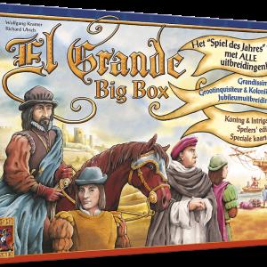 El Grande Big Box - Bordspel